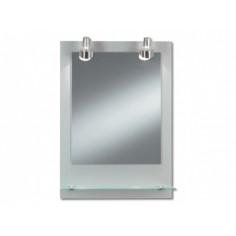 Огледало с халогенно осветление Form Pascal - ШхВ 50х70 см, IP20, с полица
