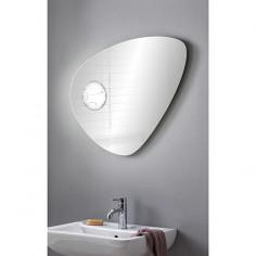 Огледало с LED осветление Camargue Organic - ШхВ 88х66 см, с интегрирано увеличително огледало