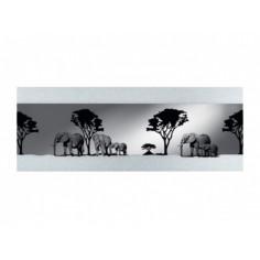 Огледало Form Kenia - ШхВ 140х50 см, с декорация
