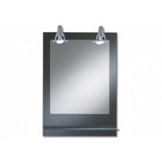 Огледало с халогенно осветление Form Pierre - ШхВ 50х70 см, IP20, с полица