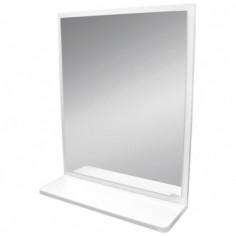 Огледало Alpina - ШхВ 66х54 см, с MDF рамка и полица