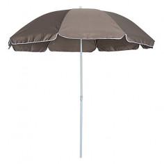Плажен чадър Ø200 см, таупе