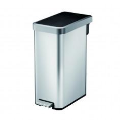"""Кош за отпадъци с педал """"ECOFLY II"""" - 45 литра - мат"""