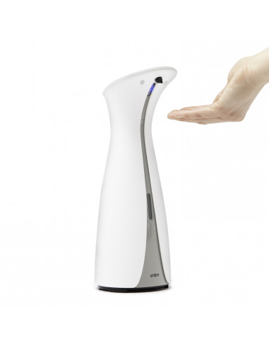 "Сензорен диспенсър за сапун и дезинфектант ""OTTO"" - 255 мл - цвят бял"