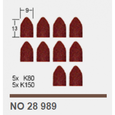 Накрайници абразивни -10 бр