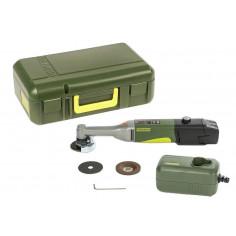Шлайф ъглов издължен LHW/A акумулаторен с батерия и зарядно