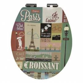 Капак за тоалетна чиния Parisienne - забавено падане