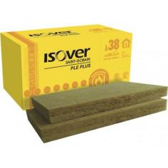 Каменна вата Isover PLE PLUS - 1000х600х100 мм, 6 броя