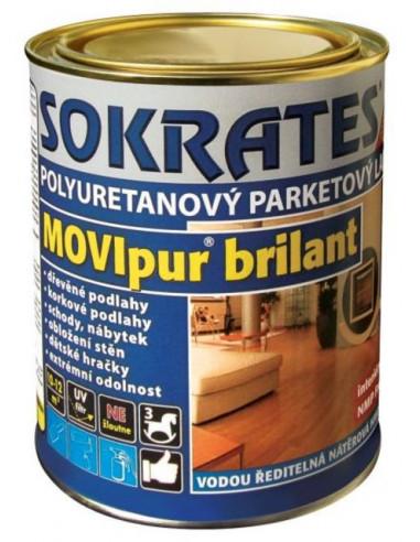 Лак за паркет Movipur Sokrates, полумат, 0,6 кг