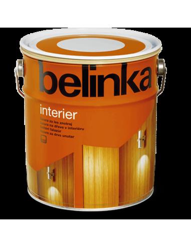 Вoдоразтворим лак Belinka Interier - 2,5 л, горещ шоколад