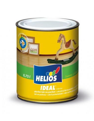 Лак за паркет Helios Ideal, гланц, 0,75 л