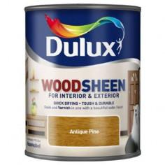 Лак Dulux Woodsheen, античен бор, 750 мл