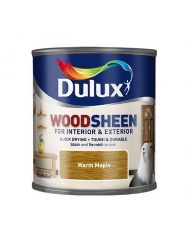 Лак Dulux Woodsheen, клен, 250 мл