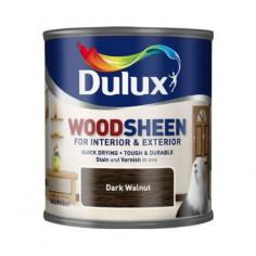 Лак Dulux Woodsheen, тъмен орех, 250 мл