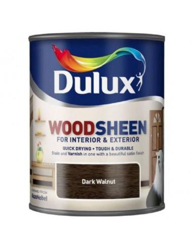 Лак Dulux Woodsheen, тъмен орех, 750 мл