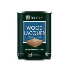 Лак за дърво Timmer Lacquer, полиуретанов, гланц, 750 мл