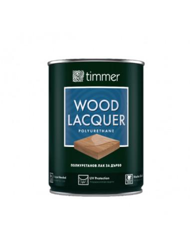 Лак за дърво Timmer Lacquer, полиуретанов, мат, 750 мл