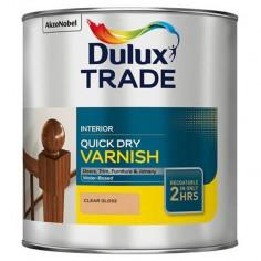 Лак бързосъхнещ Dulux - Безцветен гланц