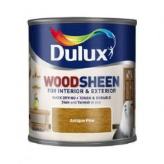 Лак Dulux Woodsheen, античен бор, 250 мл