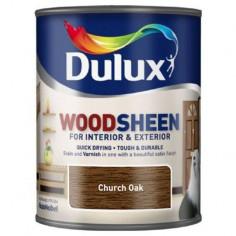 Лак Dulux Woodsheen, църковен дъб, 750 мл