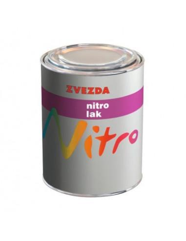 Завършващ лак Zvezda Nitro, мат, 0,750 л