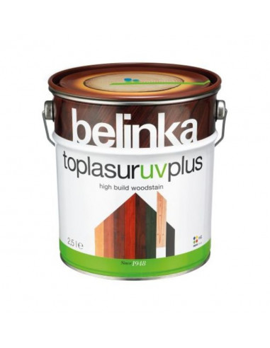 Алкиден лак Belinka Toplasur UV plus, бял