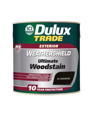 Лак Dulux Weathershield Ultimate, палисандър, 1 л