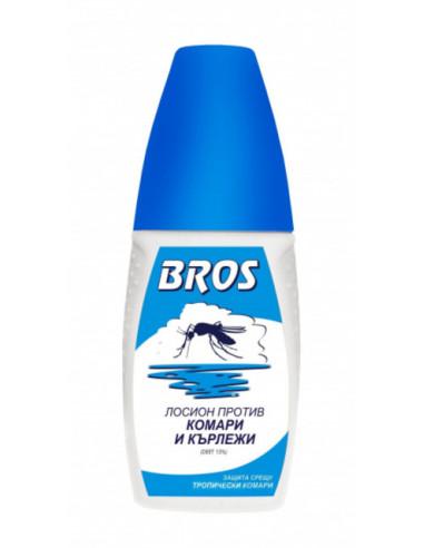 Лосион против комари и кърлежи Bros - 100 мл
