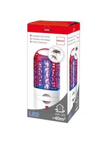Инсектицидна LED лампа Swissinno - 10 W