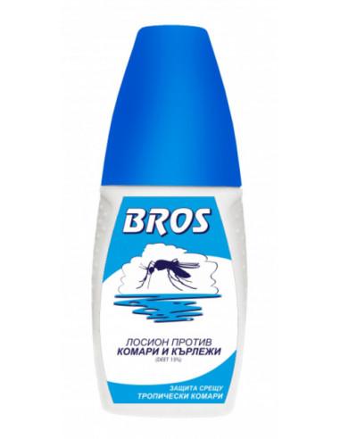Лосион против комари и кърлежи Bros - 50 мл