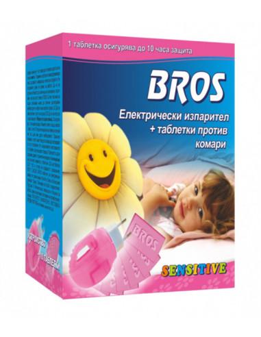 Детски електрически изпарител против комари Bros - 10 таблетки