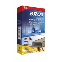 Капан с лепило за хлебарки Bros -