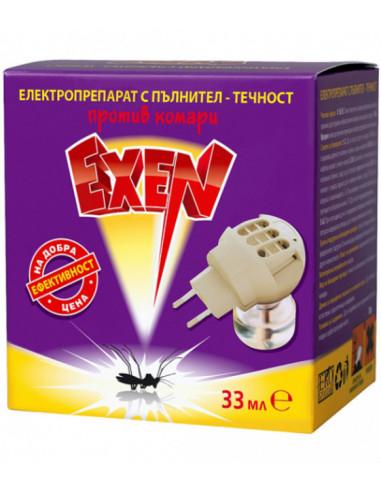 Електрически изпарител против комари Exen - С течен пълнител