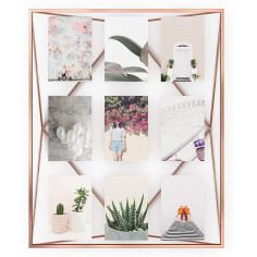 """Рамка за снимки """"PRISMA"""" - цвят мед - за 9 снимки - UMBRA"""