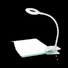 Настолна солна - USB, 80 lm, бяла