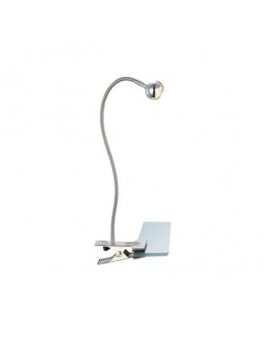 LED спот с щипка Serpent - 1xLED, 3 W, никел