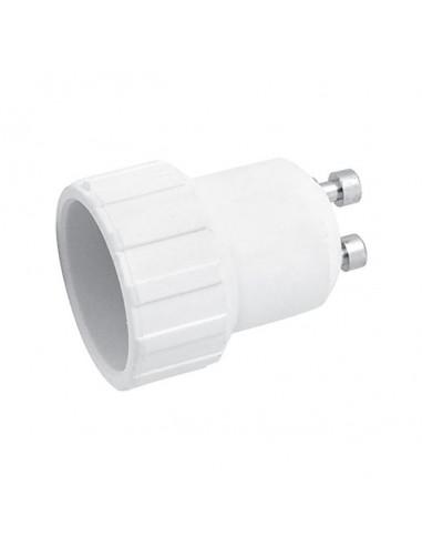Преходник за фасонки GU10 към E14 Vivalux - Ø29x39 мм, бял