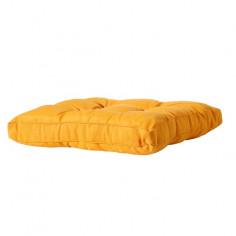 Възглавница - 60х60 см, жълта