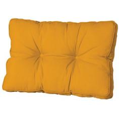 Възглавница - 60х43 см, жълта