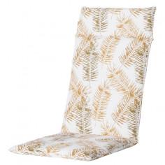 Възглавница с висока облегалка - 50х120 см, принт жълти листа