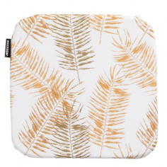 Възглавница - 40х40 см, принт жълти листа