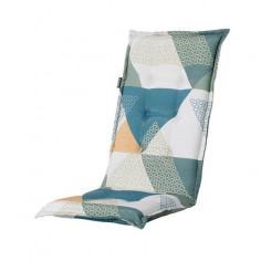 Възглавница с висока облегалка - 50х123 см, бяла, зелена