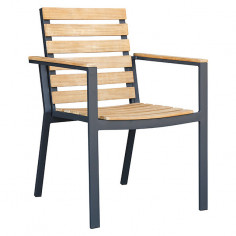 Градински дървен стол -...