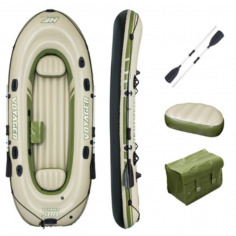 Надуваема лодка - 348х141 см, товароносимост 260 кг, за 3 души