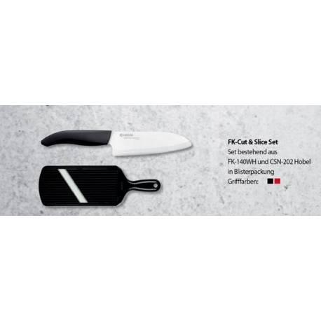 Керамичен нож за готвене и ренде, комплект