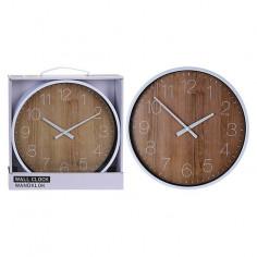 Стенен часовник - Ø25 см,...