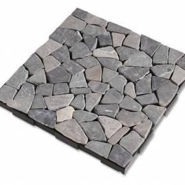 Плочка сив камък - клик система