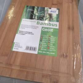 Imagén: Дъска за рязане, бамбук, 390x280x18мм