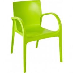 Градински стол - зелен,...