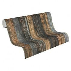 Флис тапет Wood-n-Stone